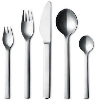 Georg Jensen New York Bestek Dinerset 5 delig (12,17,21,22,31)