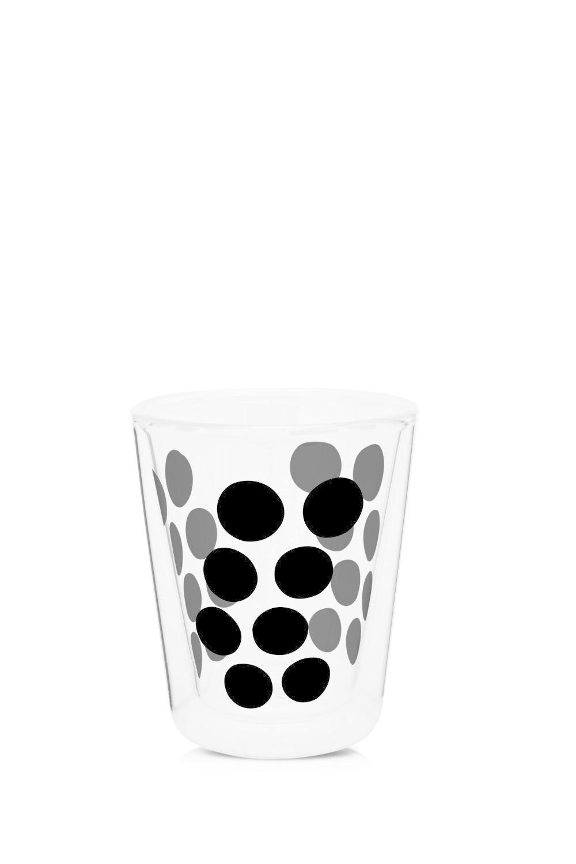 Zak!Designs Dot Dot Dubbelwandig Glas Koffie 200 ml