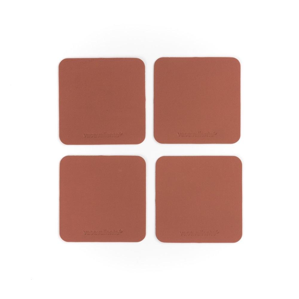 Vacavaliente Home Accents Ruca Onderzetter Vierkant Set van 4 Stuks