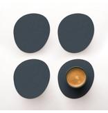 Vacavaliente Home Accents Ruca Stone Onderzetter Set van 4 Stuks