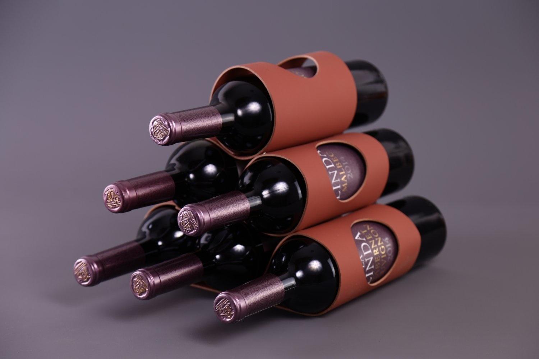 Vacavaliente Home Accents Ruca Wine Rek