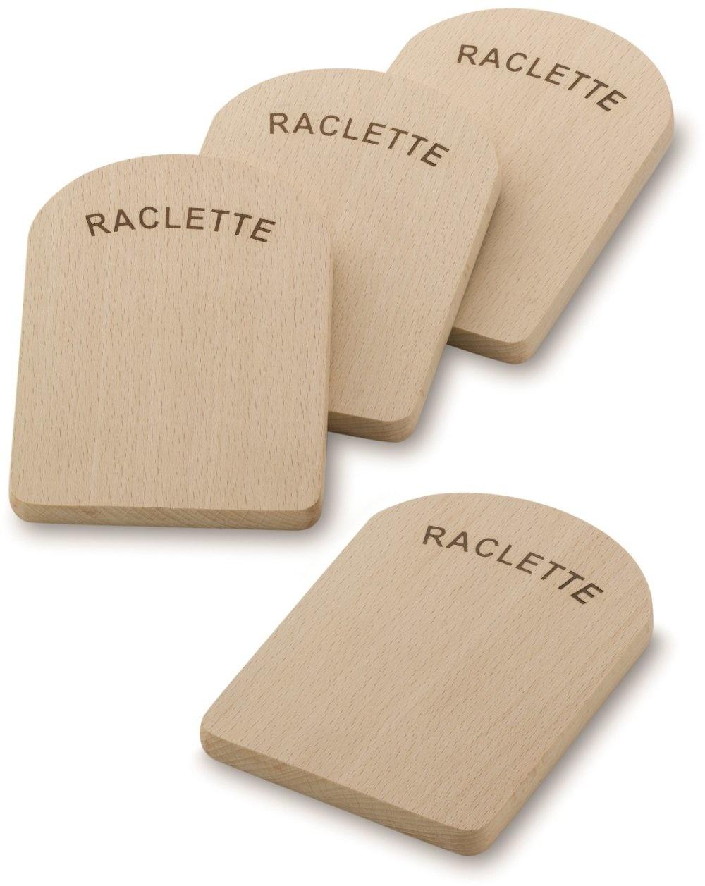Kela Keuken Raclette Serveerplankjes Set van 4 Stuks