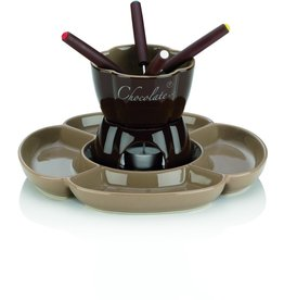 Kela Keuken Fiore Chocoladefondue Set voor 3 Personen 250 ml