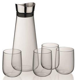 Kela Keuken Fontana Waterkan met 4 Glazen 1,3 liter
