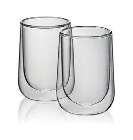 Kela Keuken Fontana Latte Macchiatio Glas 250 ml Set van 2 Stuks