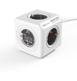 Allocacoc PowerCube Extended Monitor Stekker Type F