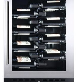 Temptech Copenhagen Wijnkoelkast met 1 Zone voor 40 Flessen