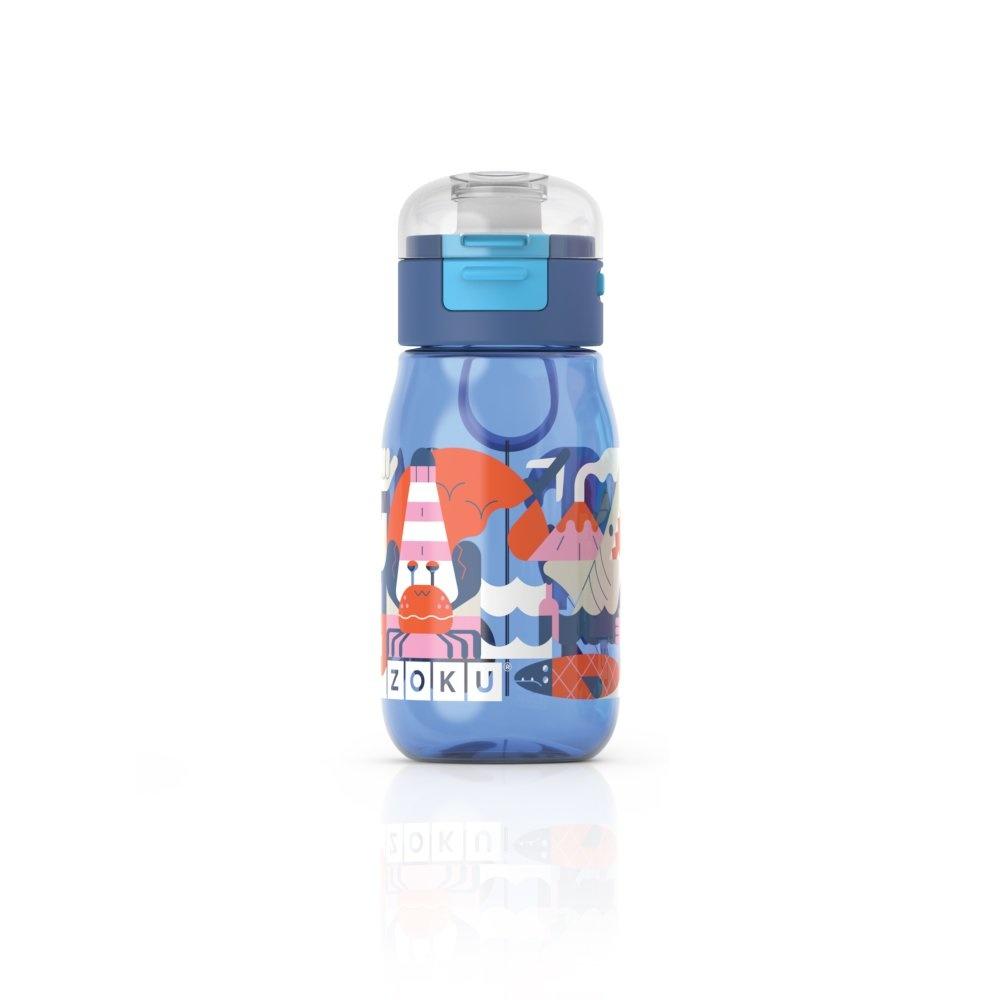 Zoku Drinkbeker Kids Flip met Rietje 475 ml