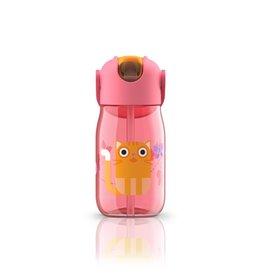 Zoku Drinkbeker Kids Flip met Rietje 415 ml