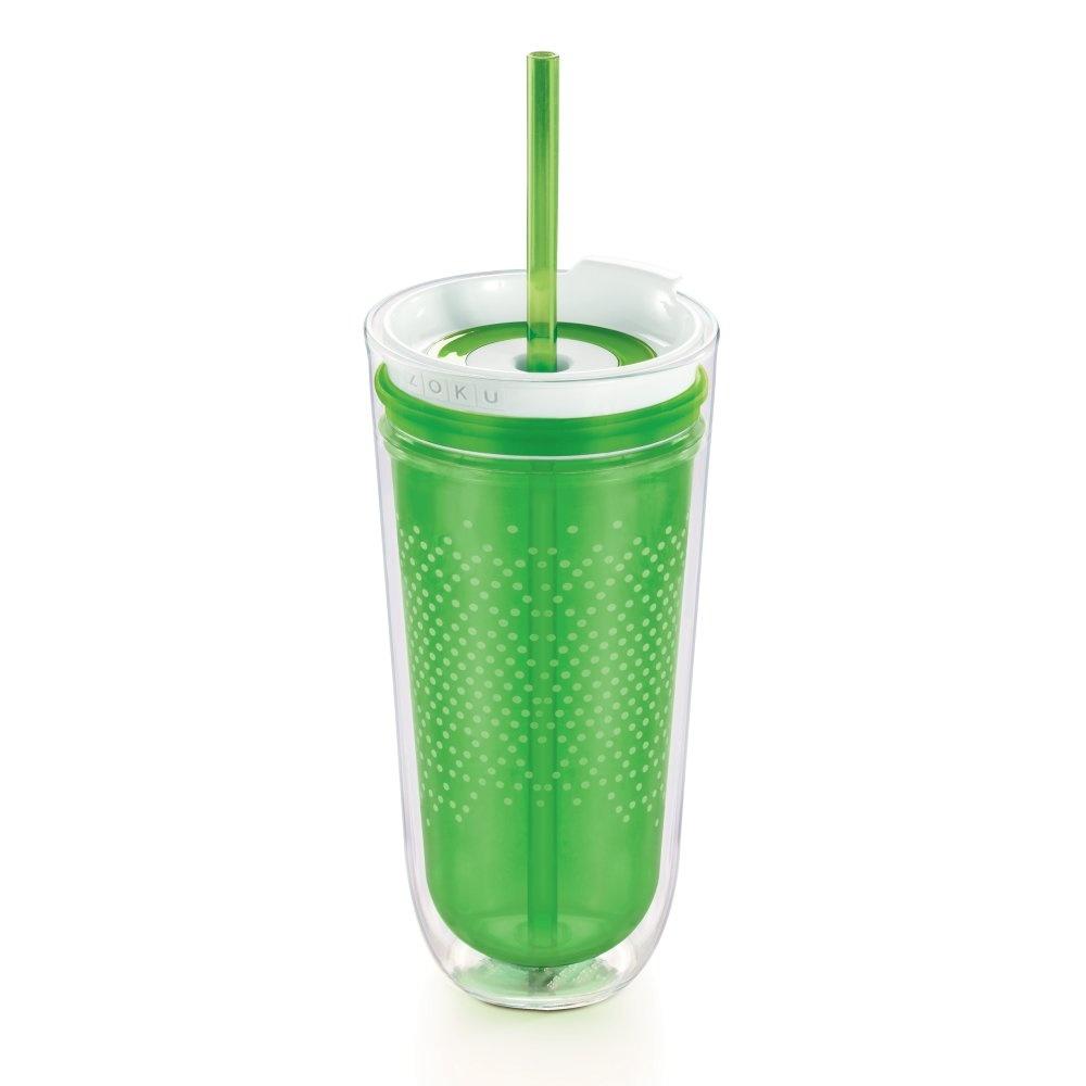 Zoku Drinkbeker Hydration Travel met Rietje 325 ml