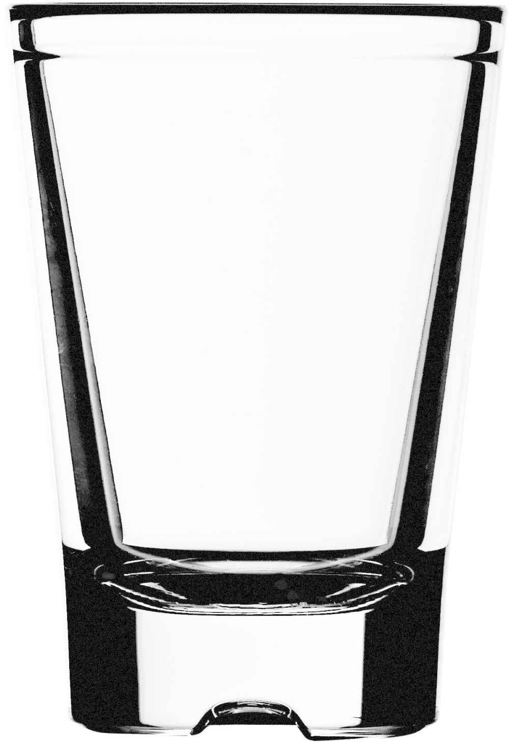 Strahl Accessoires Shot Glas 74 ml