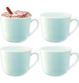 L.S.A. Dine Koffiebeker 300 ml Set van 4 Stuks