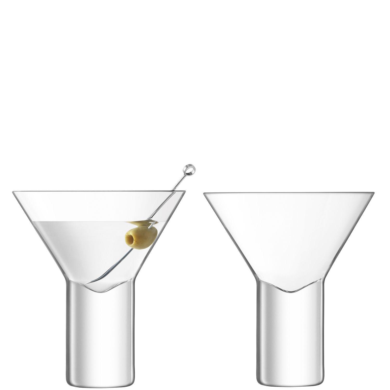 L.S.A. Vodka Glas Cocktail 240 ml Set van 2 Stuks