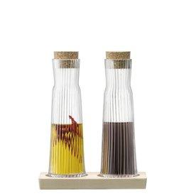 L.S.A. Gio Line Flessen Set met Kurken Stopper 200 ml