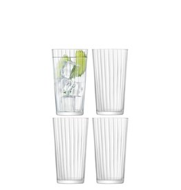 L.S.A. Gio Line Glas Juice 320 ml Set van 4 Stuks