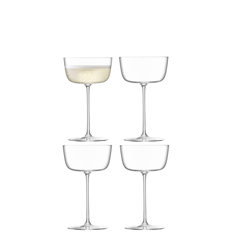 L.S.A. Borough Glas Cocktail 240 ml Set van 4 Stuks