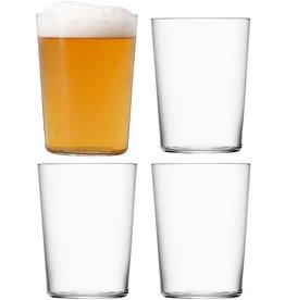 L.S.A. Gio Glas Groot 560 ml Set van 4 Stuks