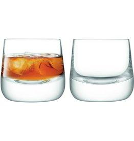 L.S.A. Bar Culture Whisky Glas 220 ml Set van 2 Stuks