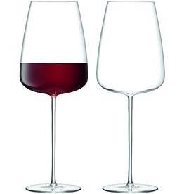 L.S.A. Wine Culture Rode Wijnglas 800 ml Set van 2 Stuks