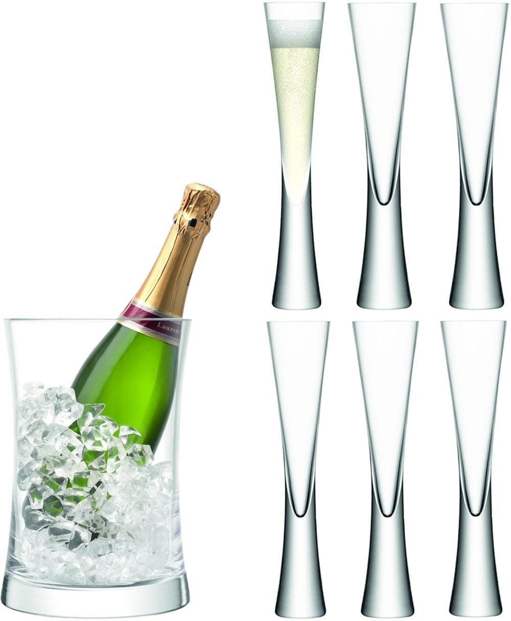L.S.A. Moya Champagne Serveerset van 7 Stuks