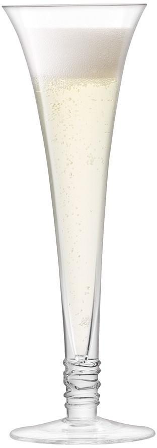 L.S.A. Prosecco Champagne Flute 140 ml Set van 4 Stuks