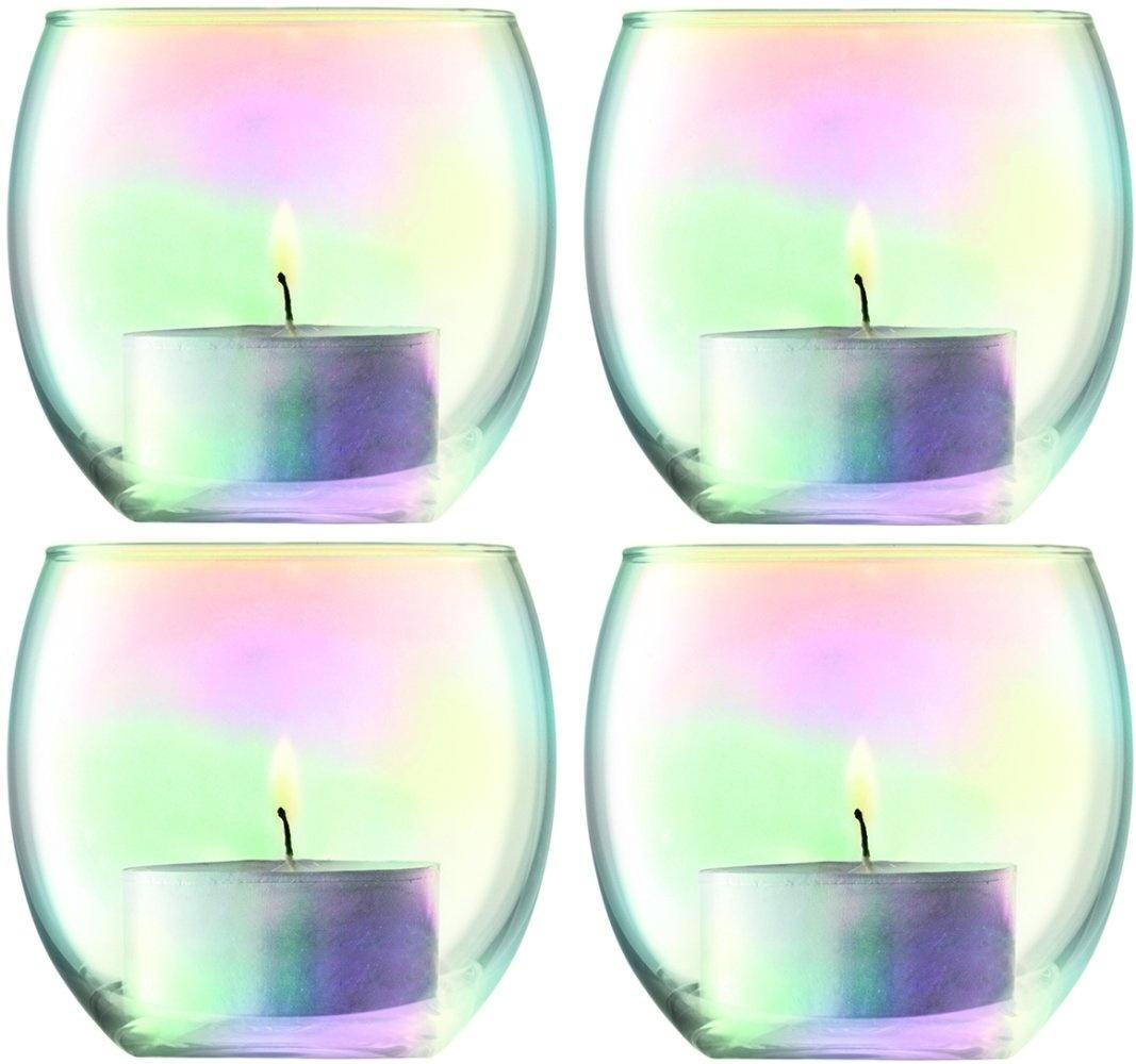 L.S.A. Pearl Waxinelichthouder Ø 6.8 cm Set van 4 Stuks