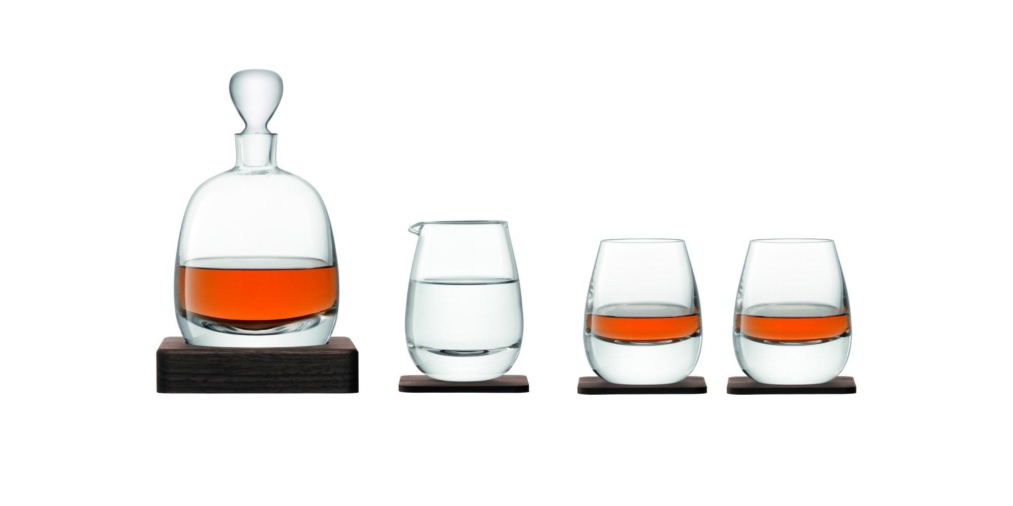 L.S.A. Whisky Islay Whisky Set van 4 Stuks