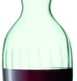 L.S.A. Mia Drinken Recycled Water / Wijn Karaf met Kurken Voet 1 l