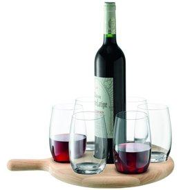 L.S.A. Paddle Water en Wijn Set van 6 Stuks