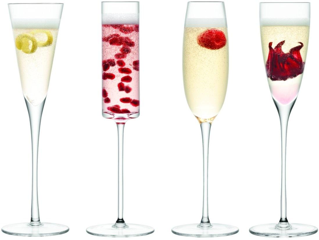 L.S.A. Lulu Champagne Flute Set van 4 Stuks