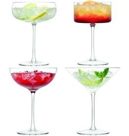 L.S.A. Lulu Cocktail Glas Set van 4 Stuks