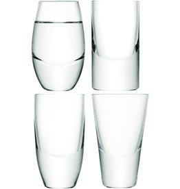 L.S.A. Lulu Vodkaglas Set van 4 Stuks