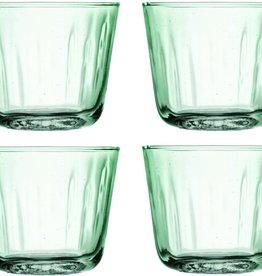 L.S.A. Mia Drinken Recycled Waterglazen 250 ml Set van 4 Stuks