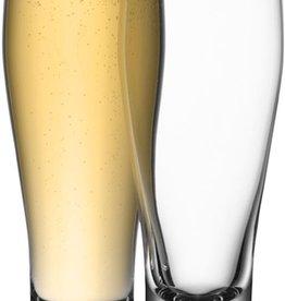 L.S.A. Bar Bierglas 400 ml Set van 4 Stuks