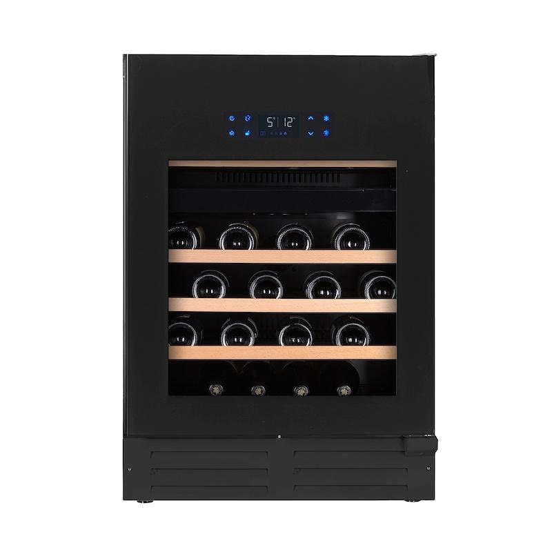 Temptech Elegance Wijnkoelkast met 2 Zones voor 46 Flessen Greeploos