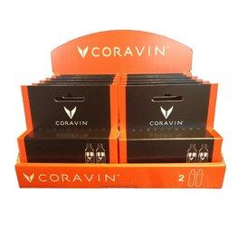 Coravin Capsules Set Display Gevuld met 12 Stuks