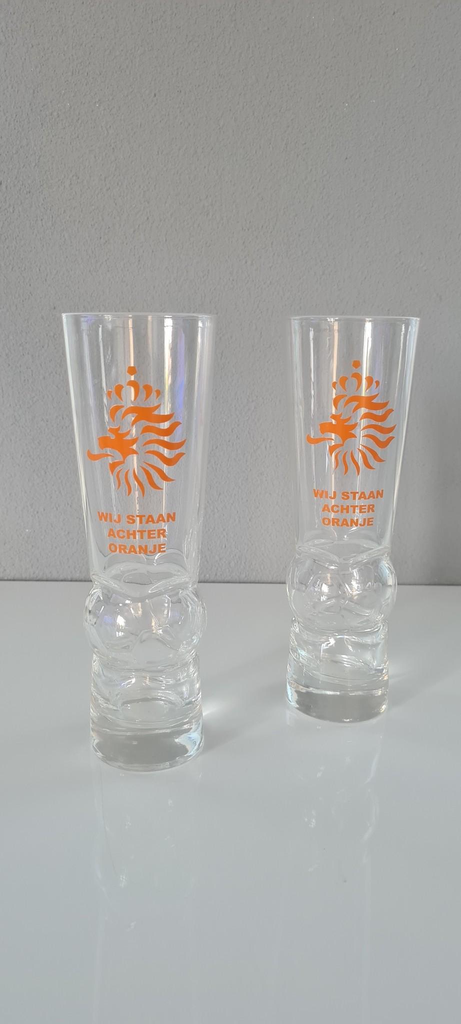 Kristalglas.nl Kristallen Bierglazen Nederlands Elftal. 300ml