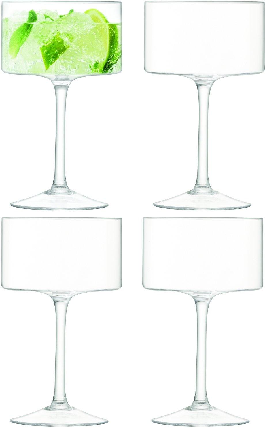 L.S.A. Otis Champagne Glas 280 ml Set van 4 stuks