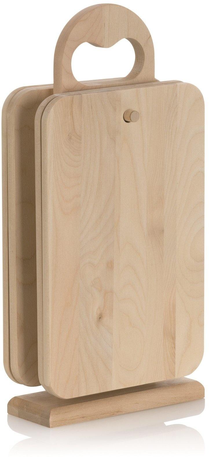 Kela Keuken Almina Snijplank met Standaard Set van 5 Stuks