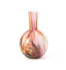 Fidrio Vaas Globe Mixed Colours small 20cm