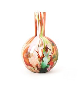 Fidrio Vaas Globe large 40cm. Mixed colours