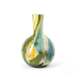 Fidrio Vaas Globe Colori medium 26cm