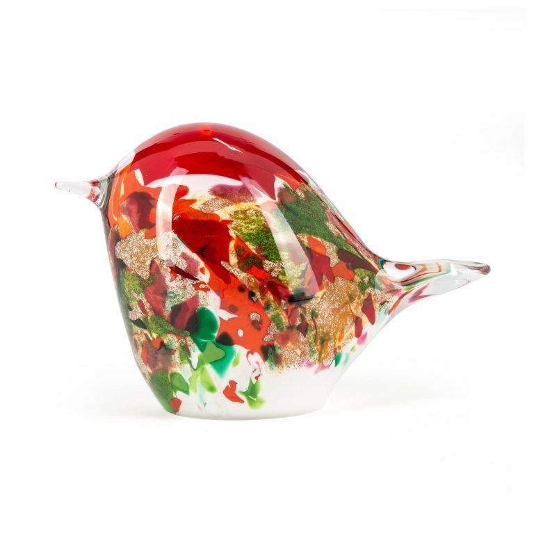 Fidrio Glaskunst  Birdy maxi  Mixed colors