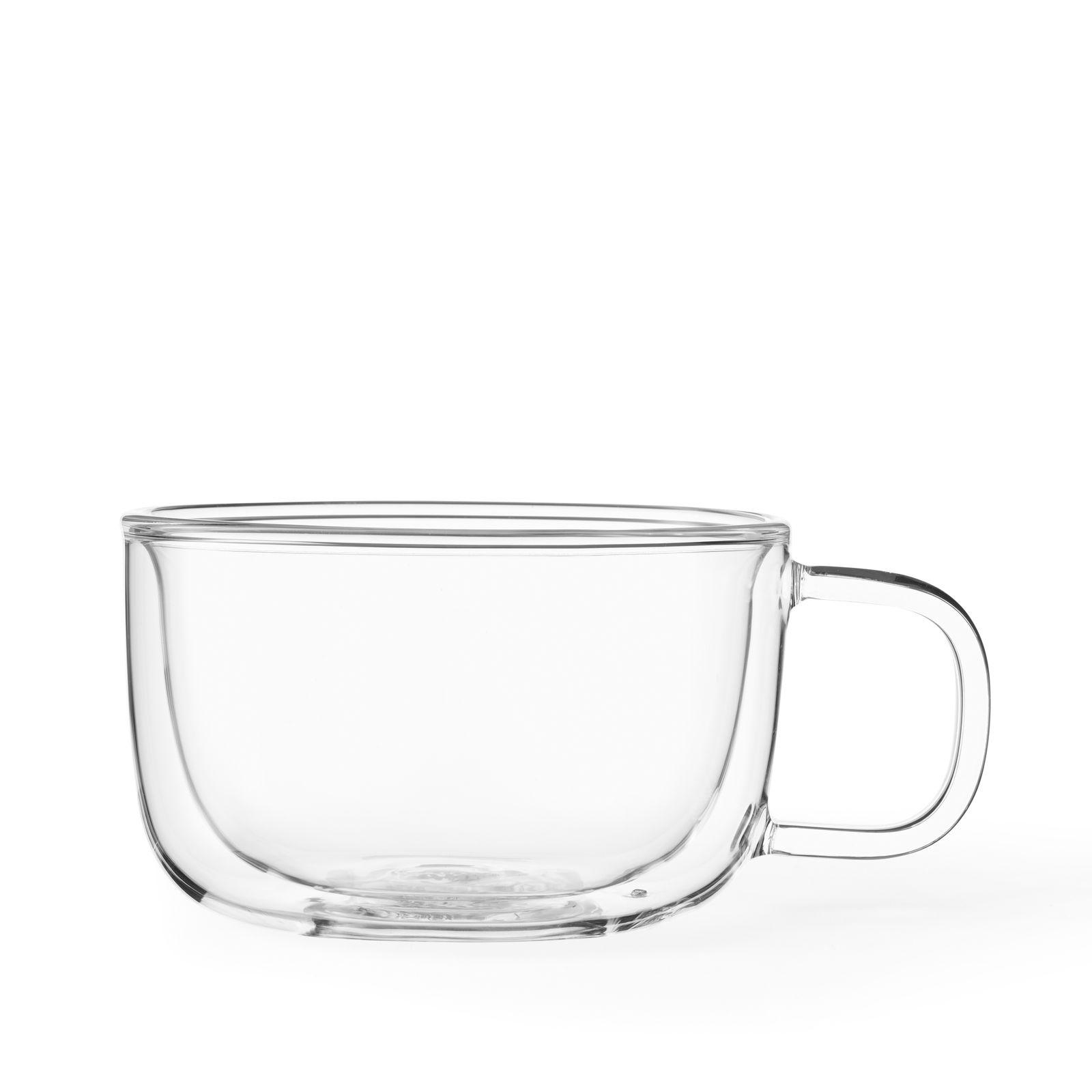 Viva Classic Glas Dubbelwandig 500 ml Set van 2 Stuks