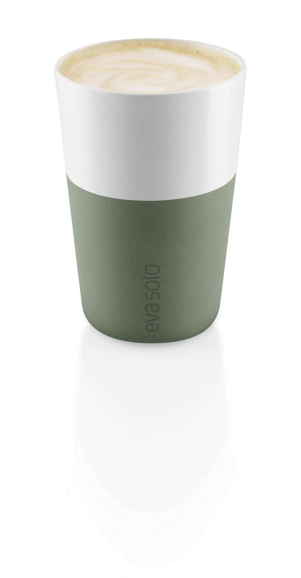 Eva Solo Koffie Latte Bekers Cactus Green Set van 2