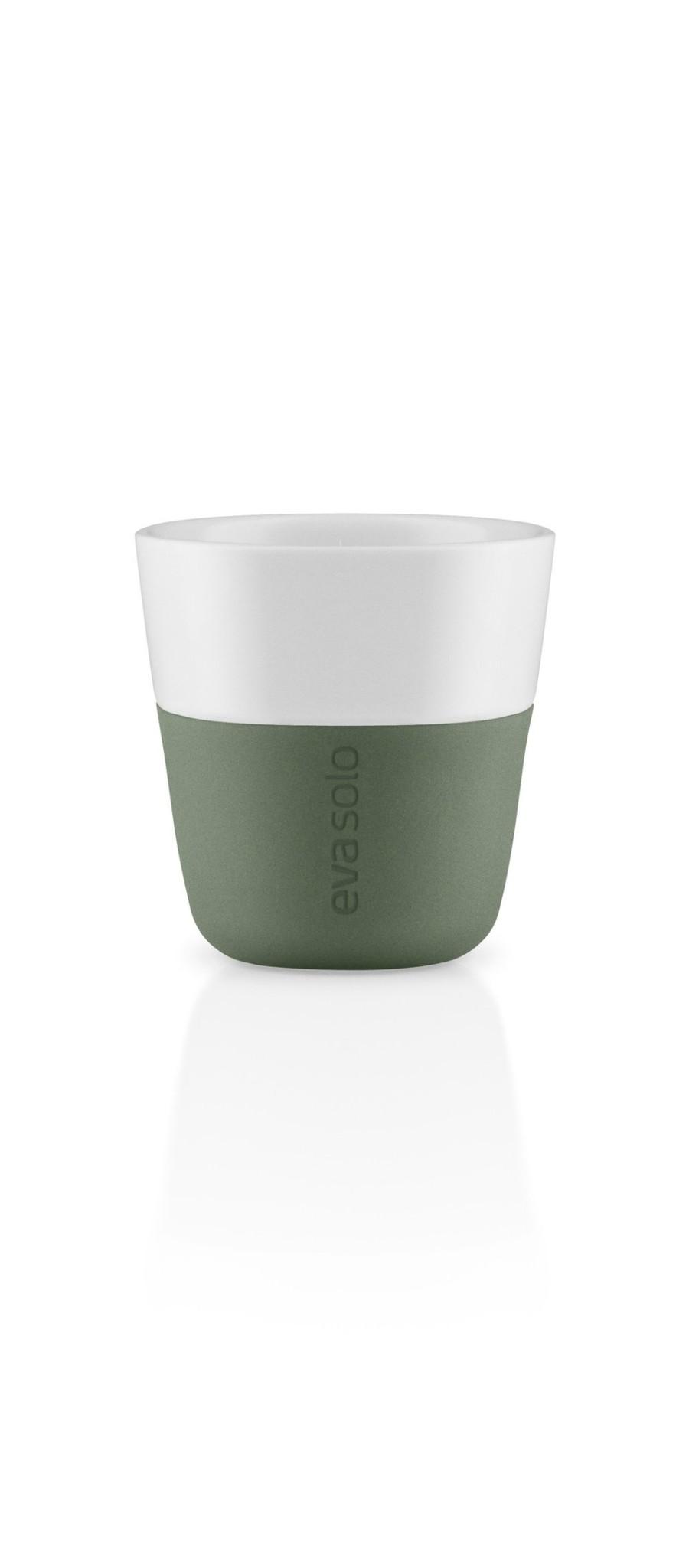 Eva Solo Espressobekers Cactus Green Set van 2