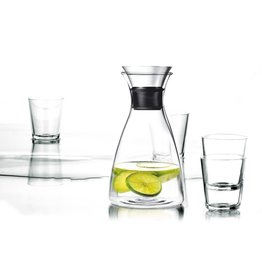 Eva Solo Karaf 1 liter met 4 Glazen 250 ml