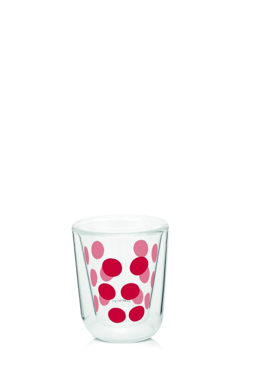 Zak!Designs Dot Dot Dubbelwandig Glas Espresso 75 ml