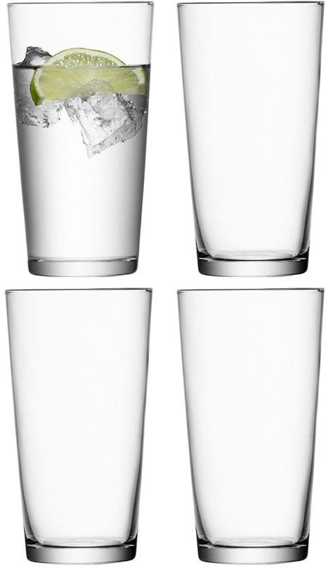 L.S.A. Gio Sapglas Groot 320 ml Set van 4 Stuks