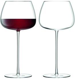 L.S.A. Wine Culture Rode Wijnglas 590 ml Set van 2 Stuks